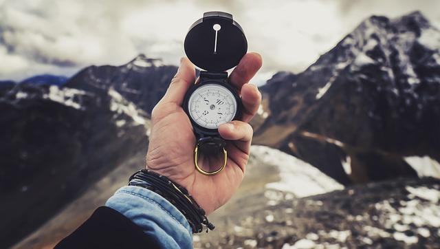 Zestaw survivalowy kompas