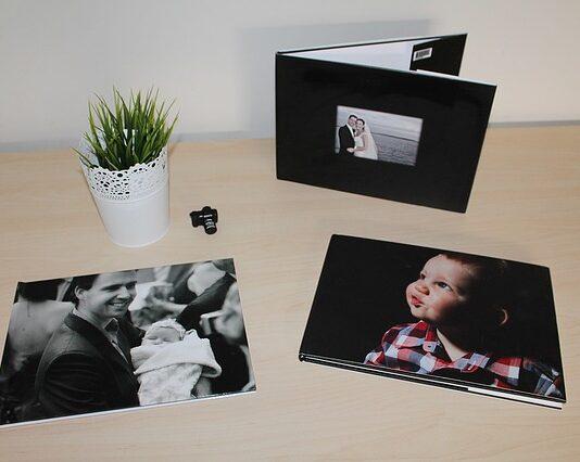 album ze zdjęciami na prezent