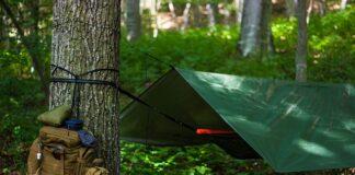 Zestaw survivalowy plecak i tarp